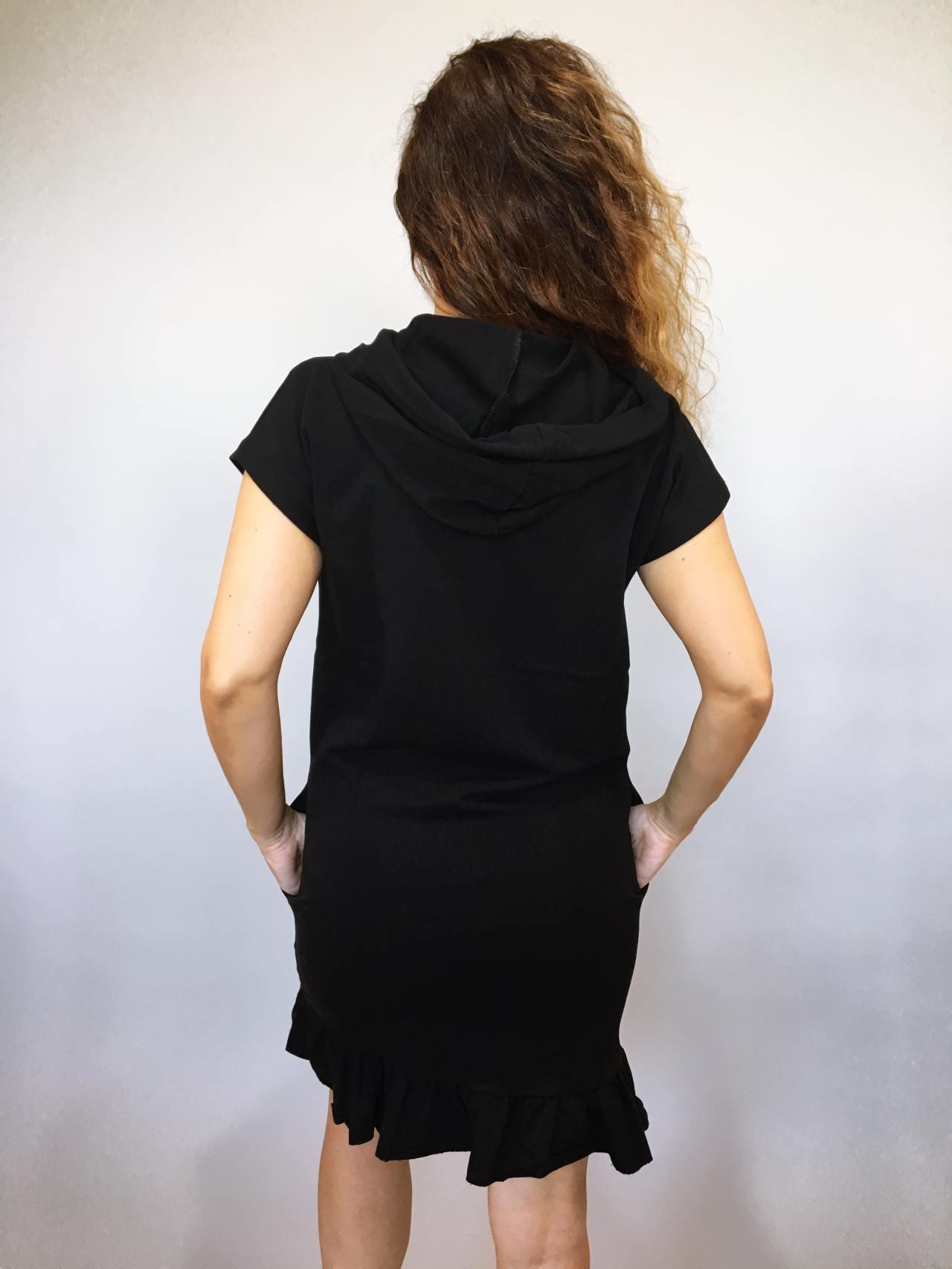 Šaty Conny černé 03