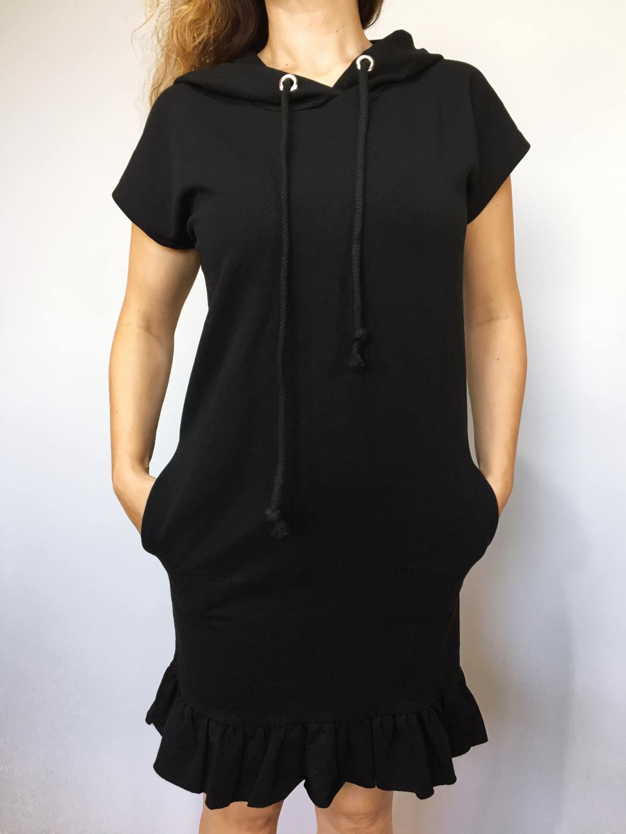 Šaty Conny černé 04