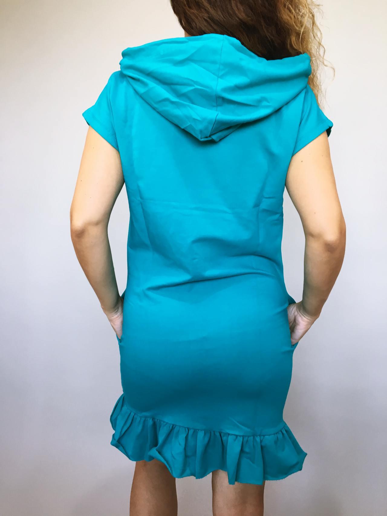 Šaty Conny zelené 04