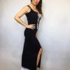 Šaty Goldie tmavě modré 03