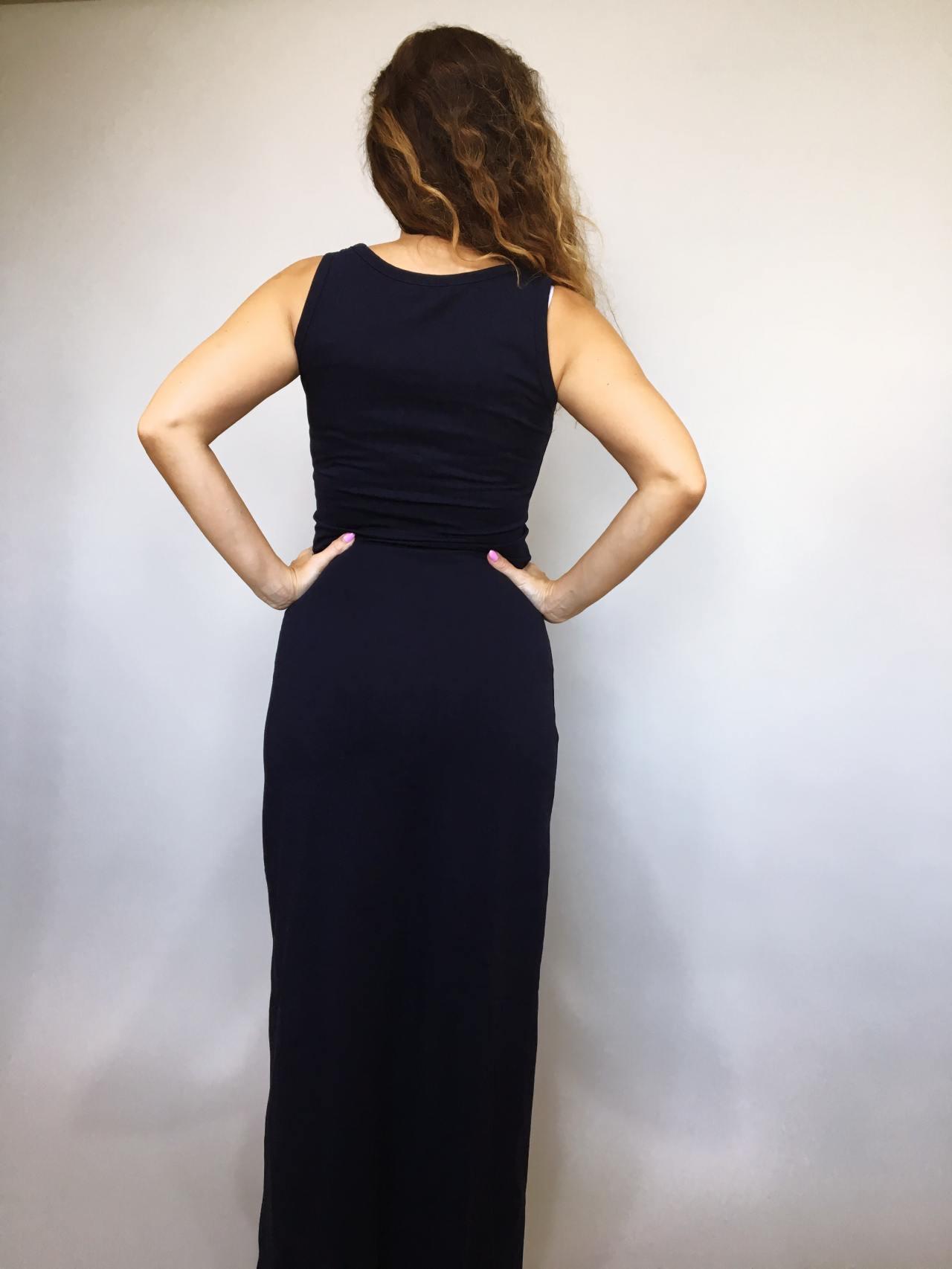 Šaty Goldie tmavě modré 04