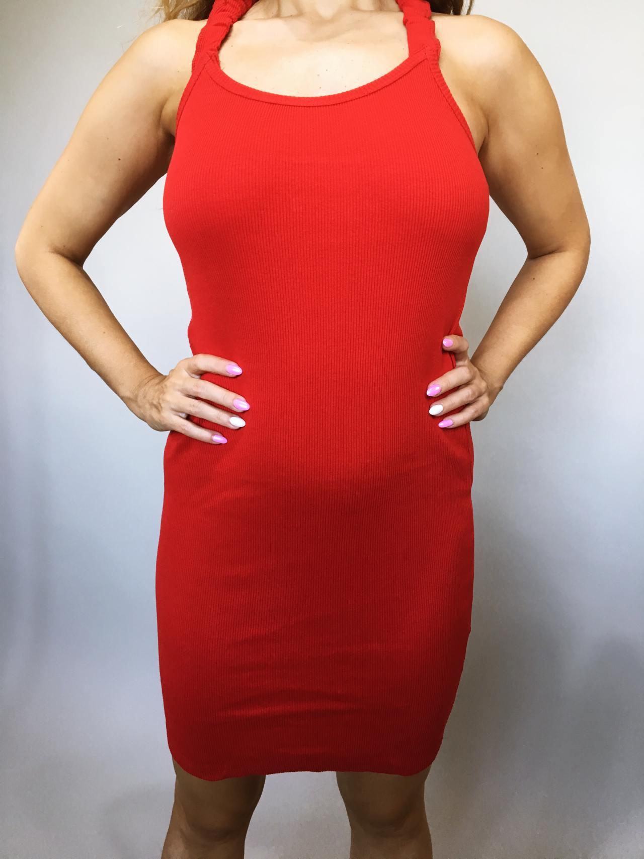 Šaty Hannah červené 02