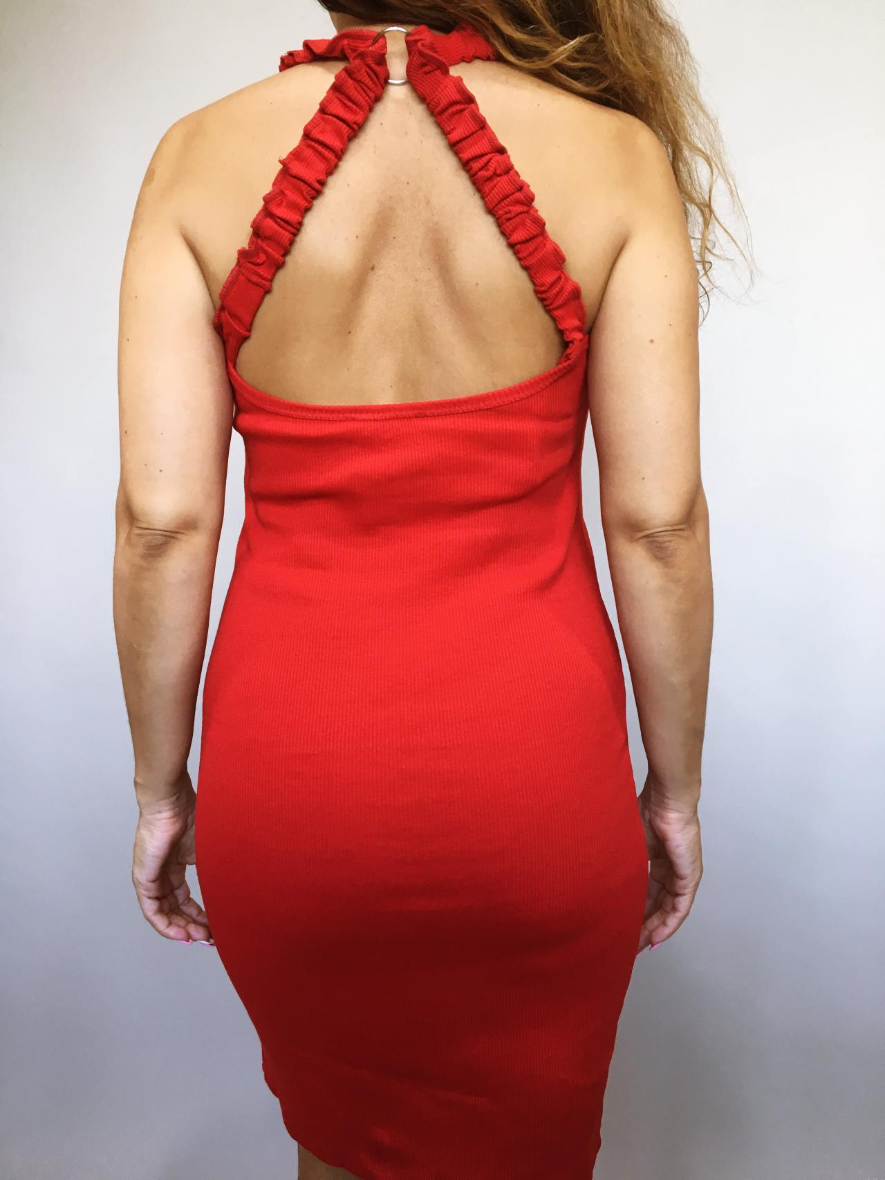 Šaty Hannah červené 04
