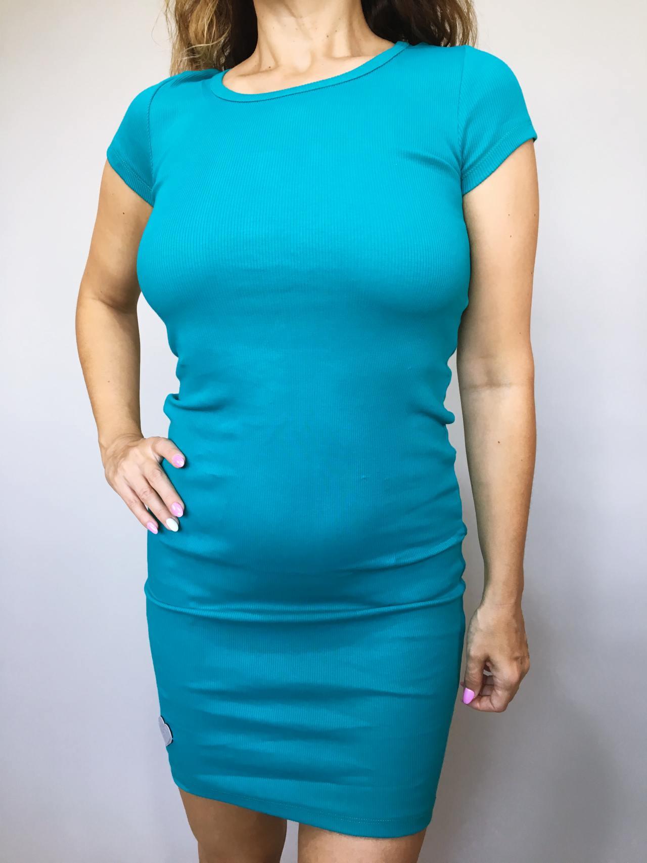 Šaty Jennifer modré 02
