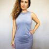 Šaty Lindsay šedé 02
