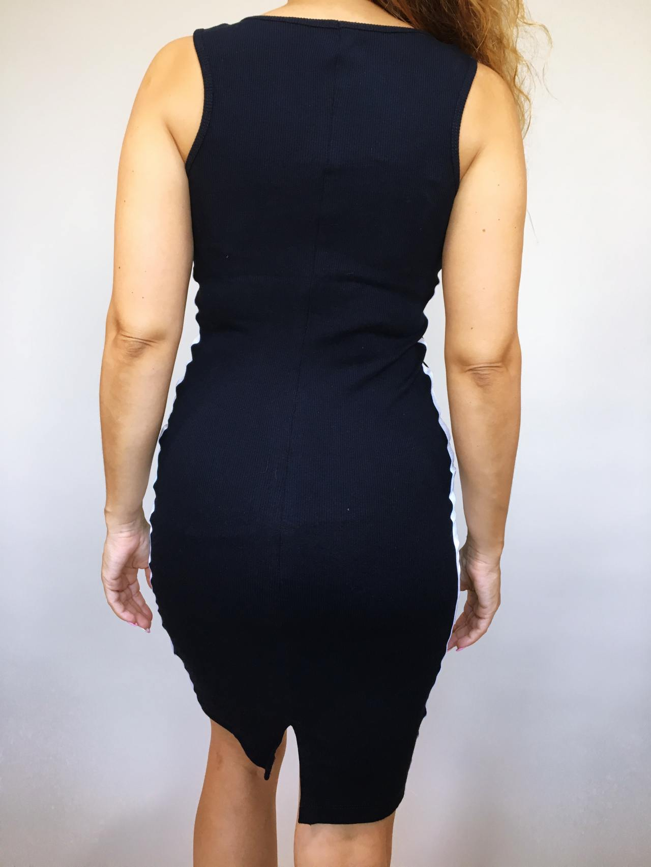 Šaty Line tmavě modré 04