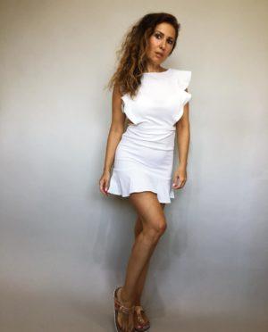 Šaty Lolla bílé 01