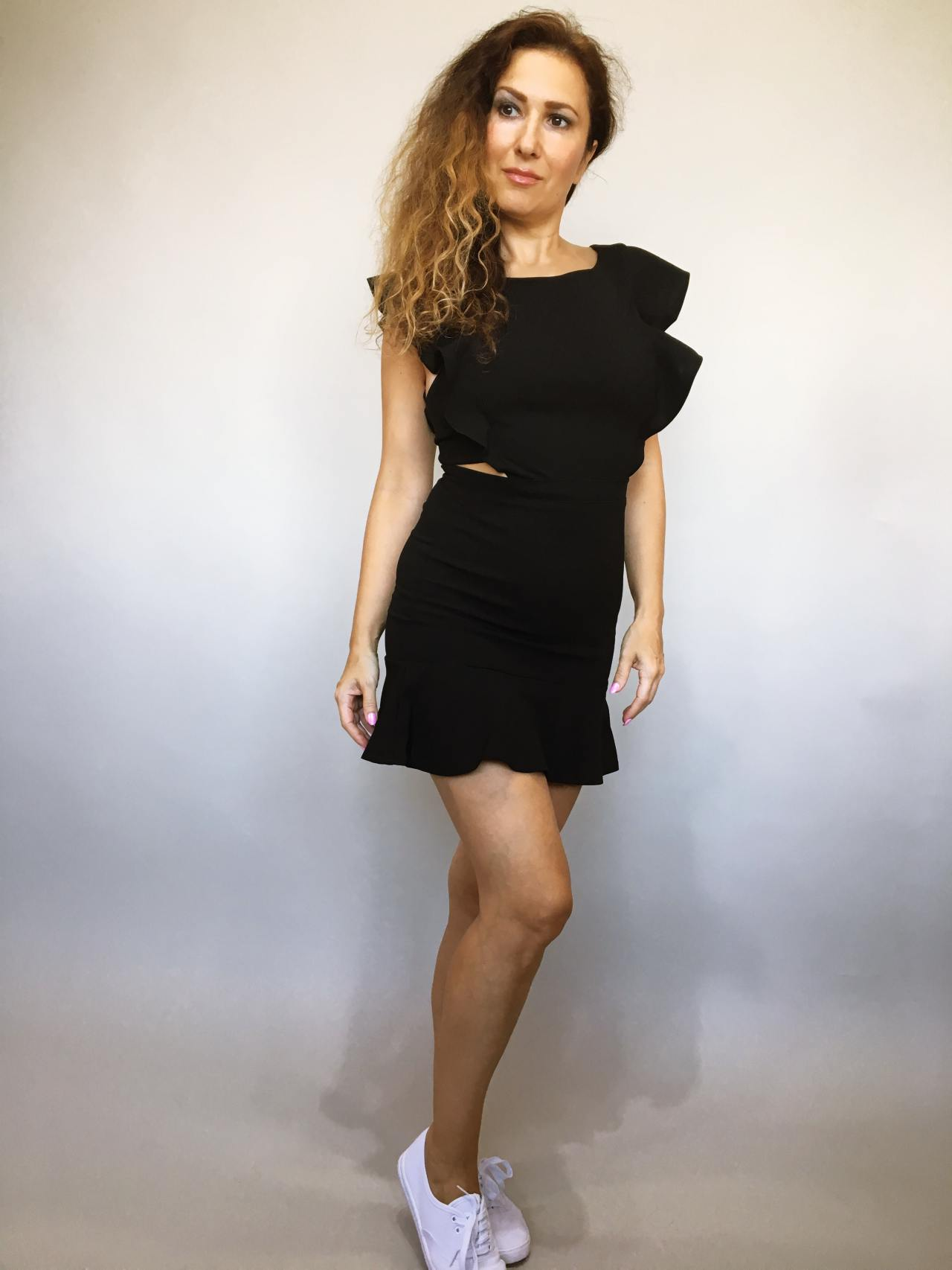 Šaty Lolla černé 01