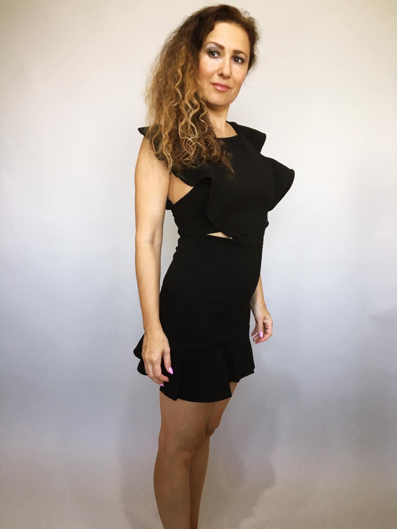 Šaty Lolla černé 02