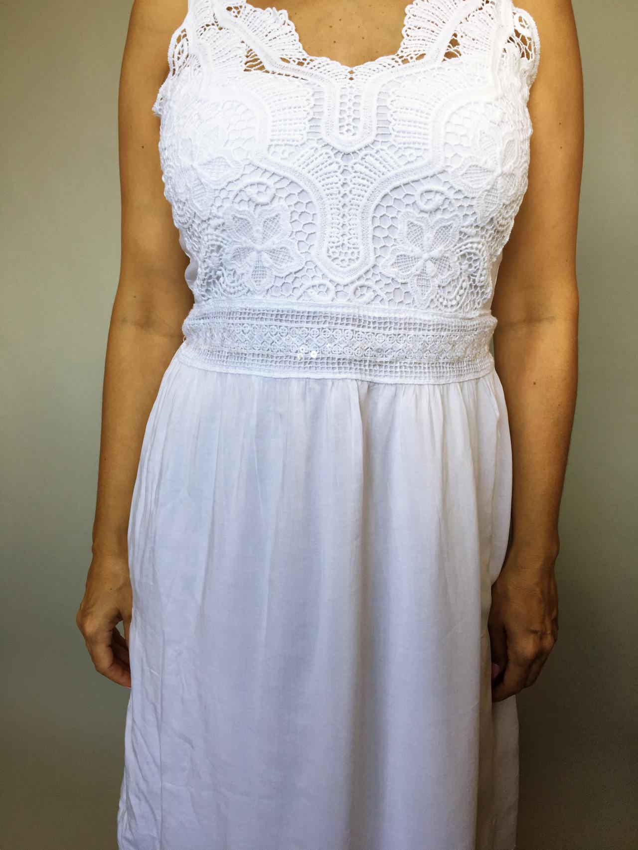 Šaty Luisa bílé 02