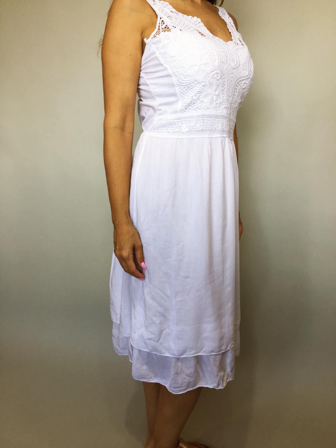 Šaty Luisa bílé 03