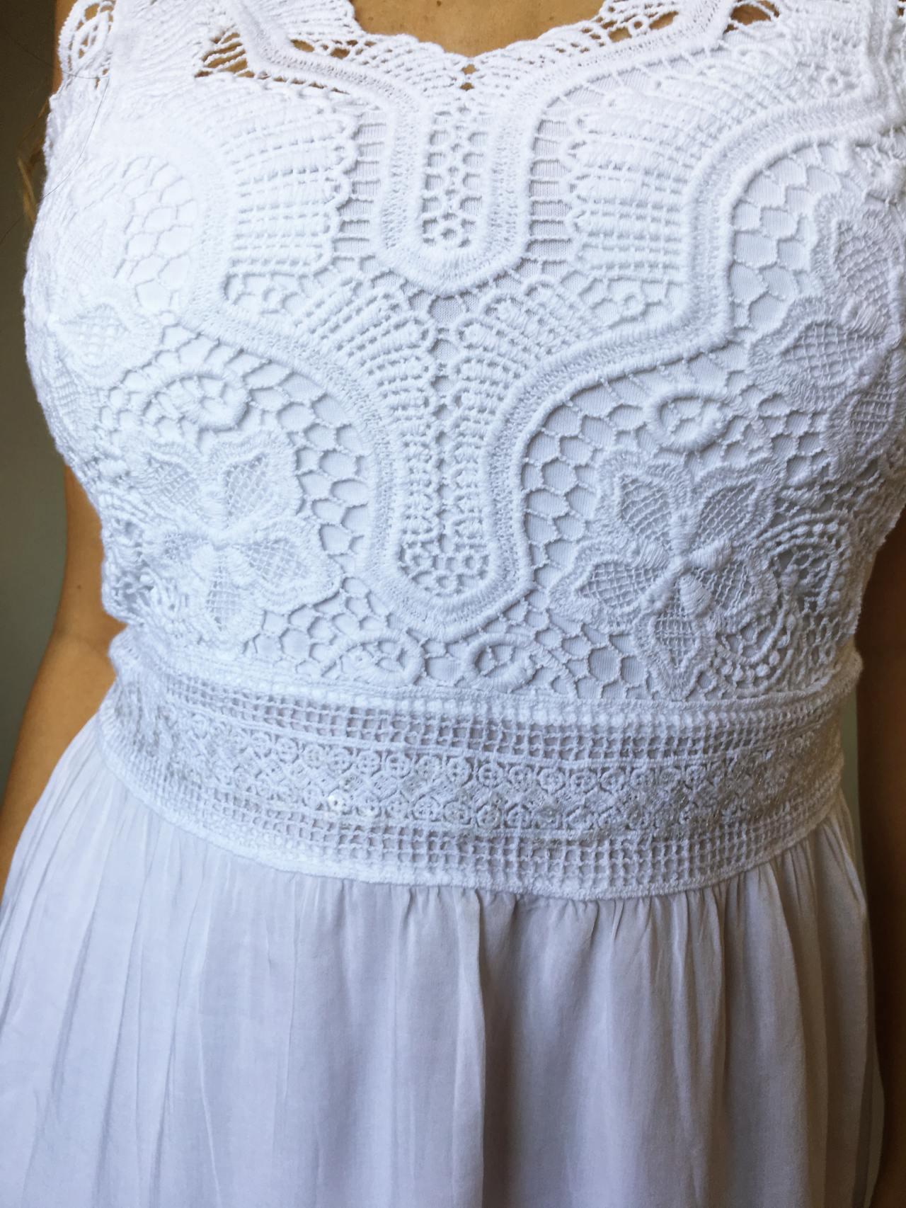 Šaty Luisa bílé 04