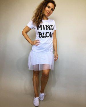 Šaty Mind Blow bílé 01