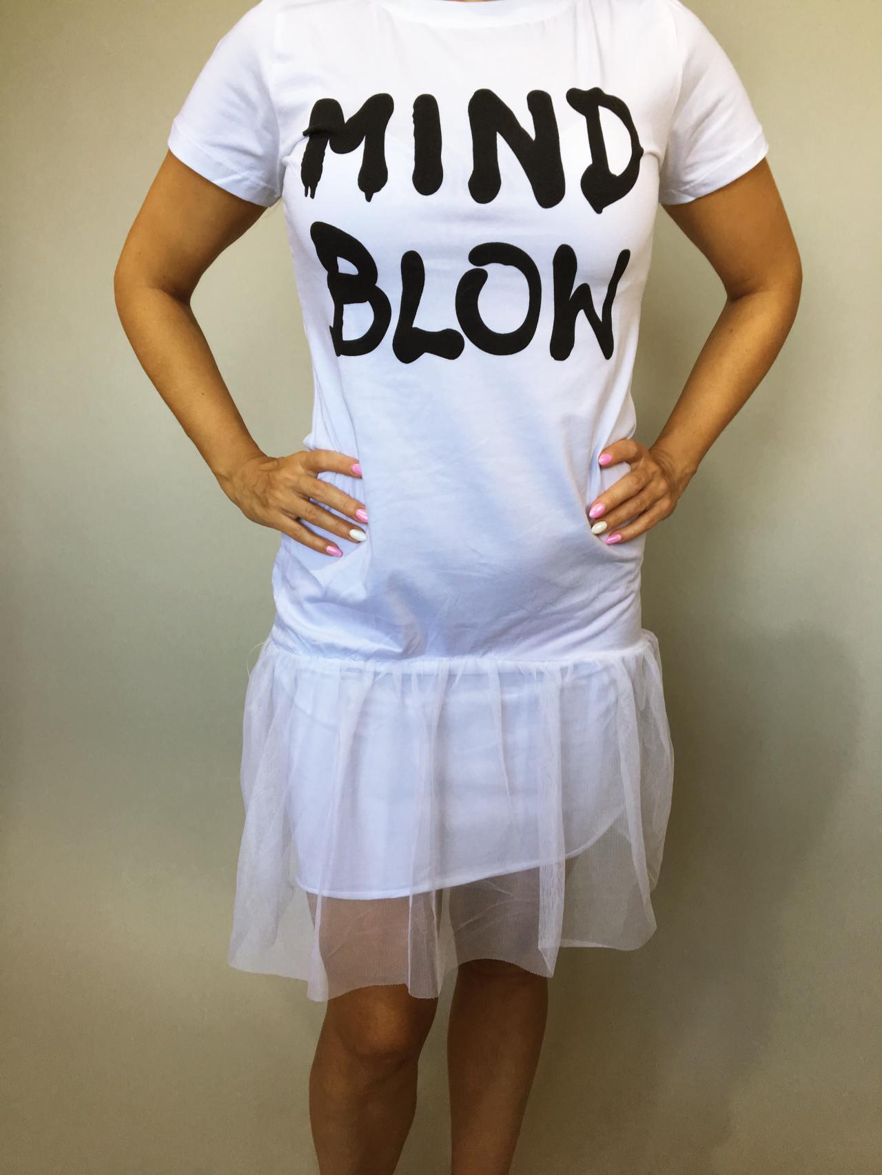 Šaty Mind Blow bílé 02