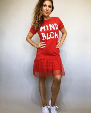 Šaty Mind Blow červené 01