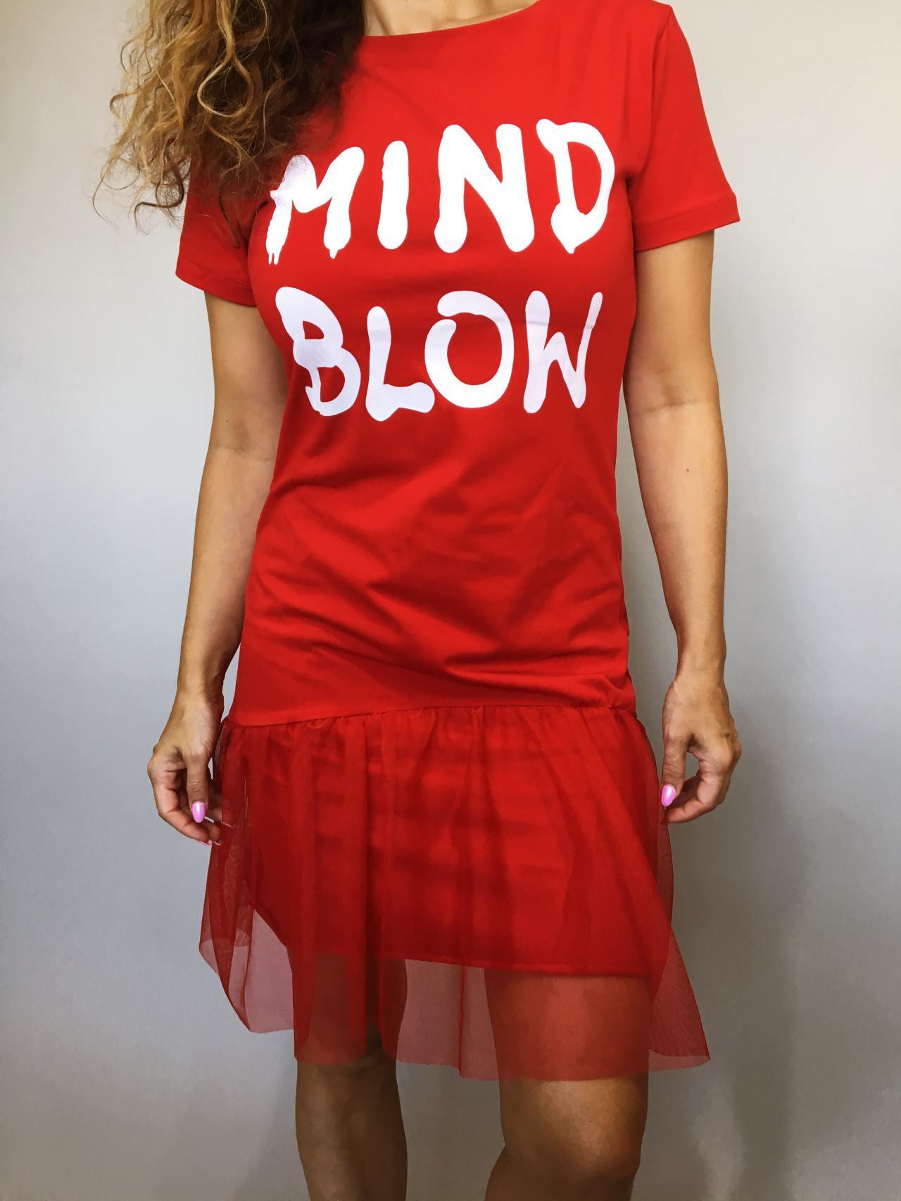 Šaty Mind Blow červené 02