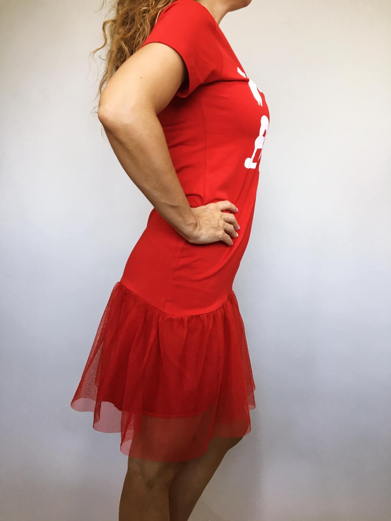 Šaty Mind Blow červené 03