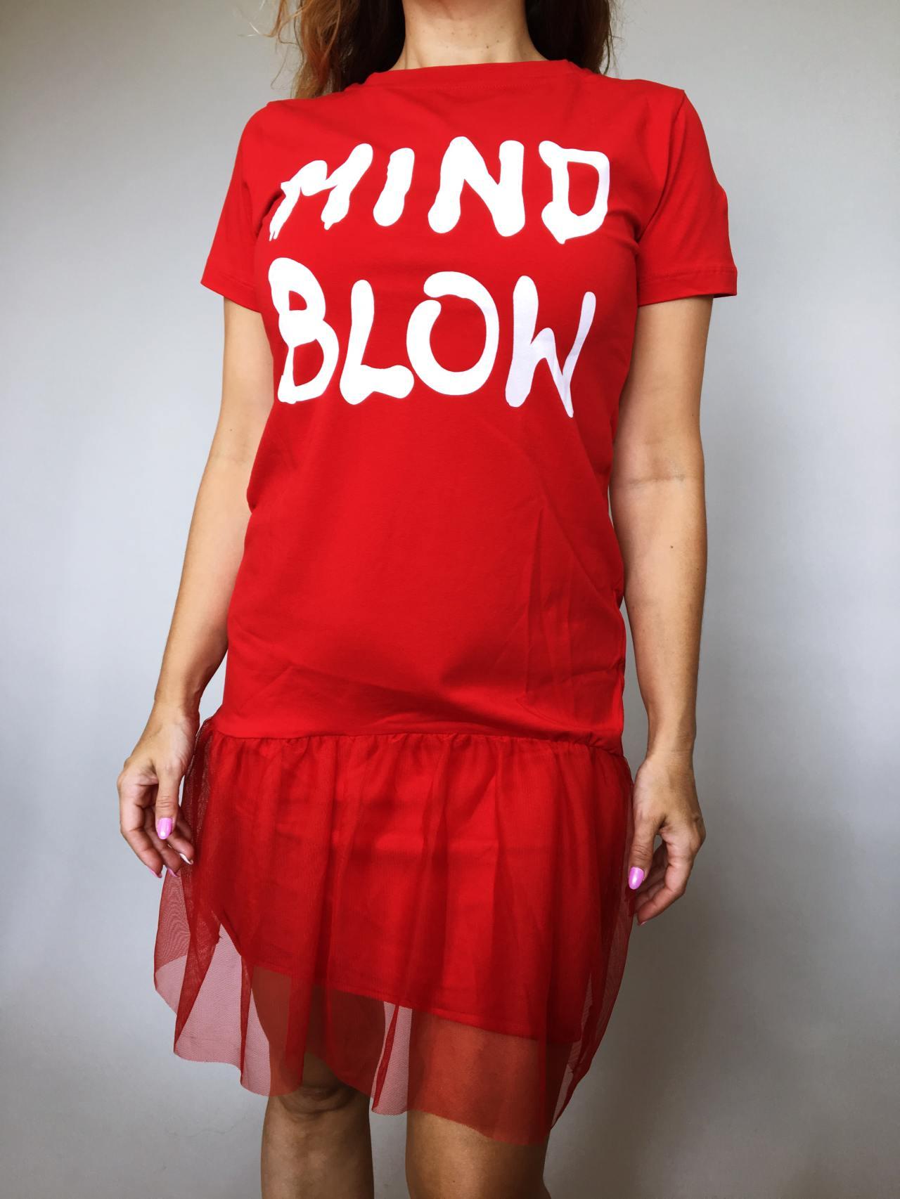 Šaty Mind Blow červené 07