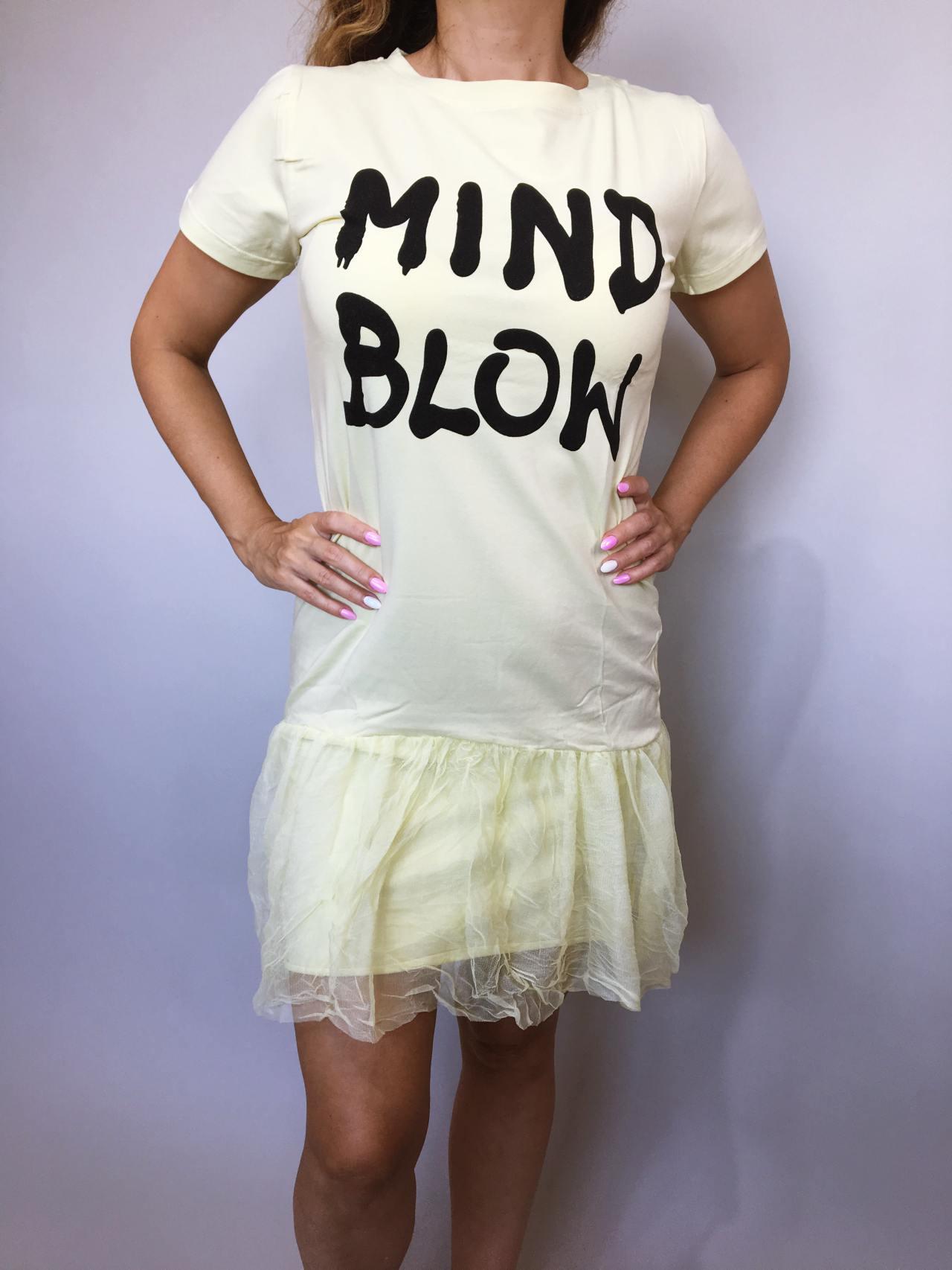 Šaty Mind Blow žluté 02