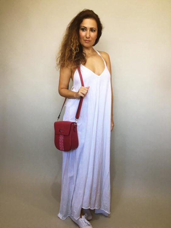 Šaty Sandy bílé 01