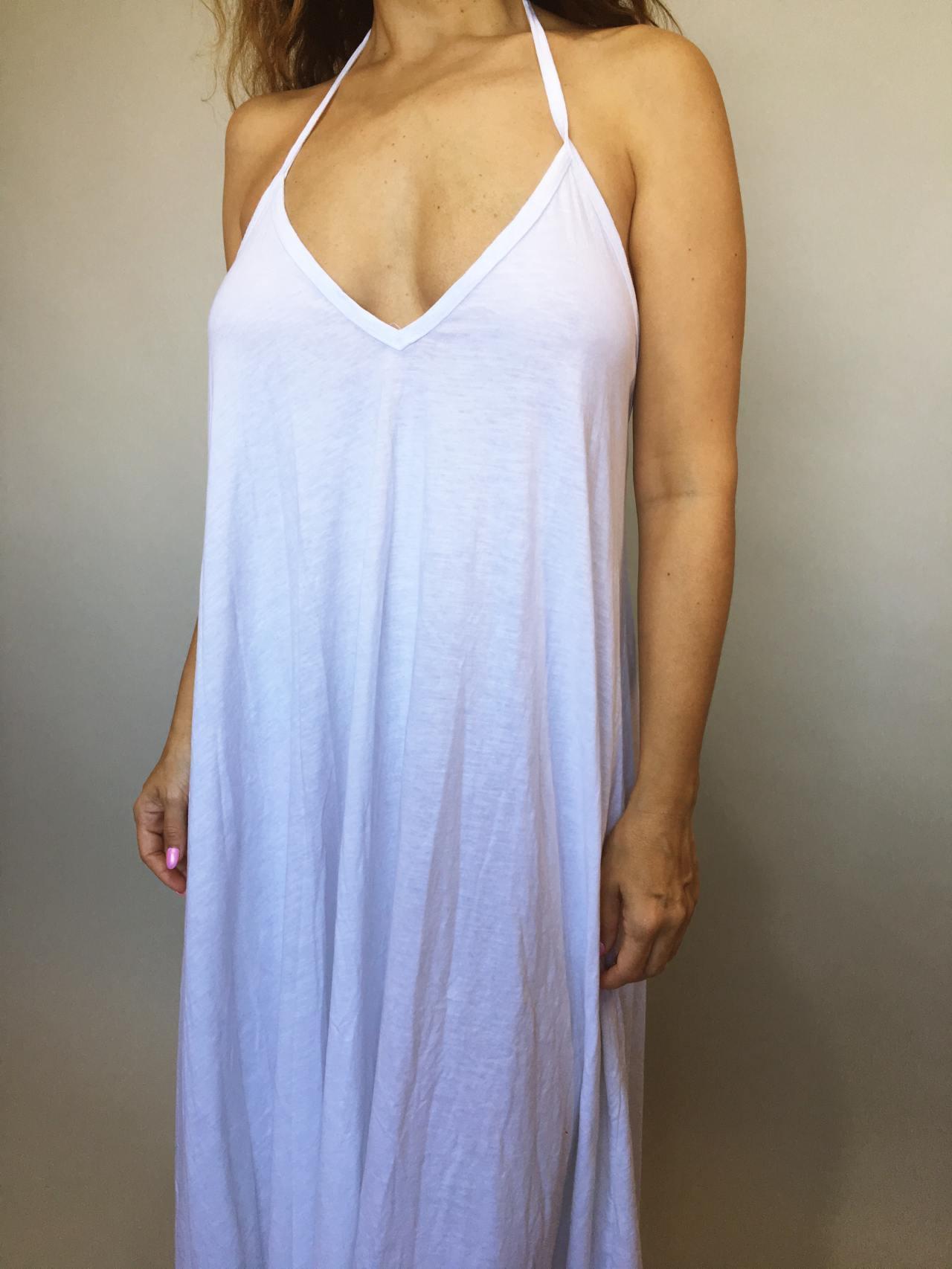 Šaty Sandy bílé 02
