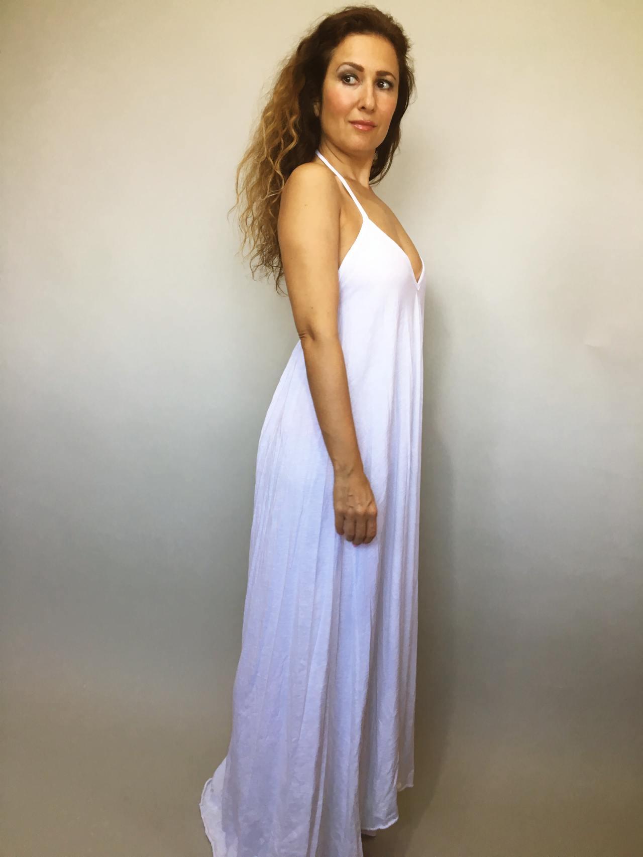 Šaty Sandy bílé 03