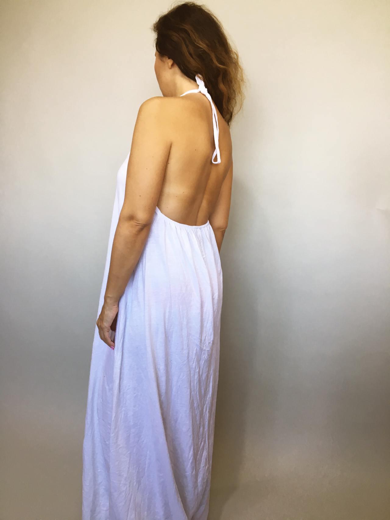 Šaty Sandy bílé 04