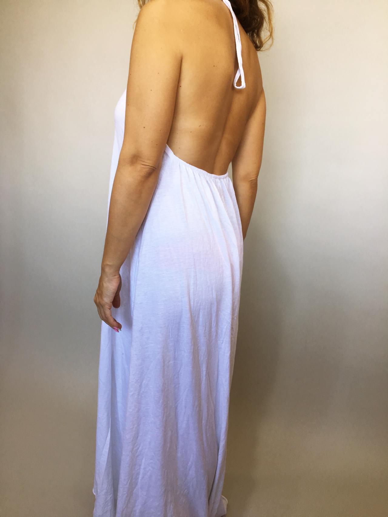 Šaty Sandy bílé 05
