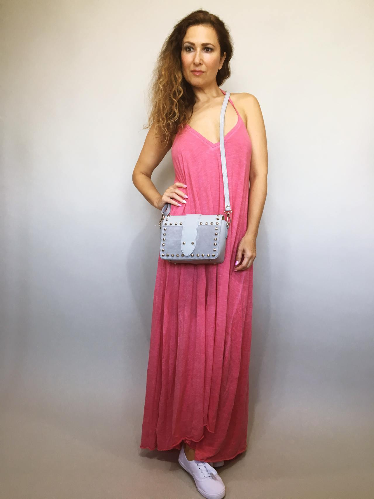 Šaty Sandy růžové 01