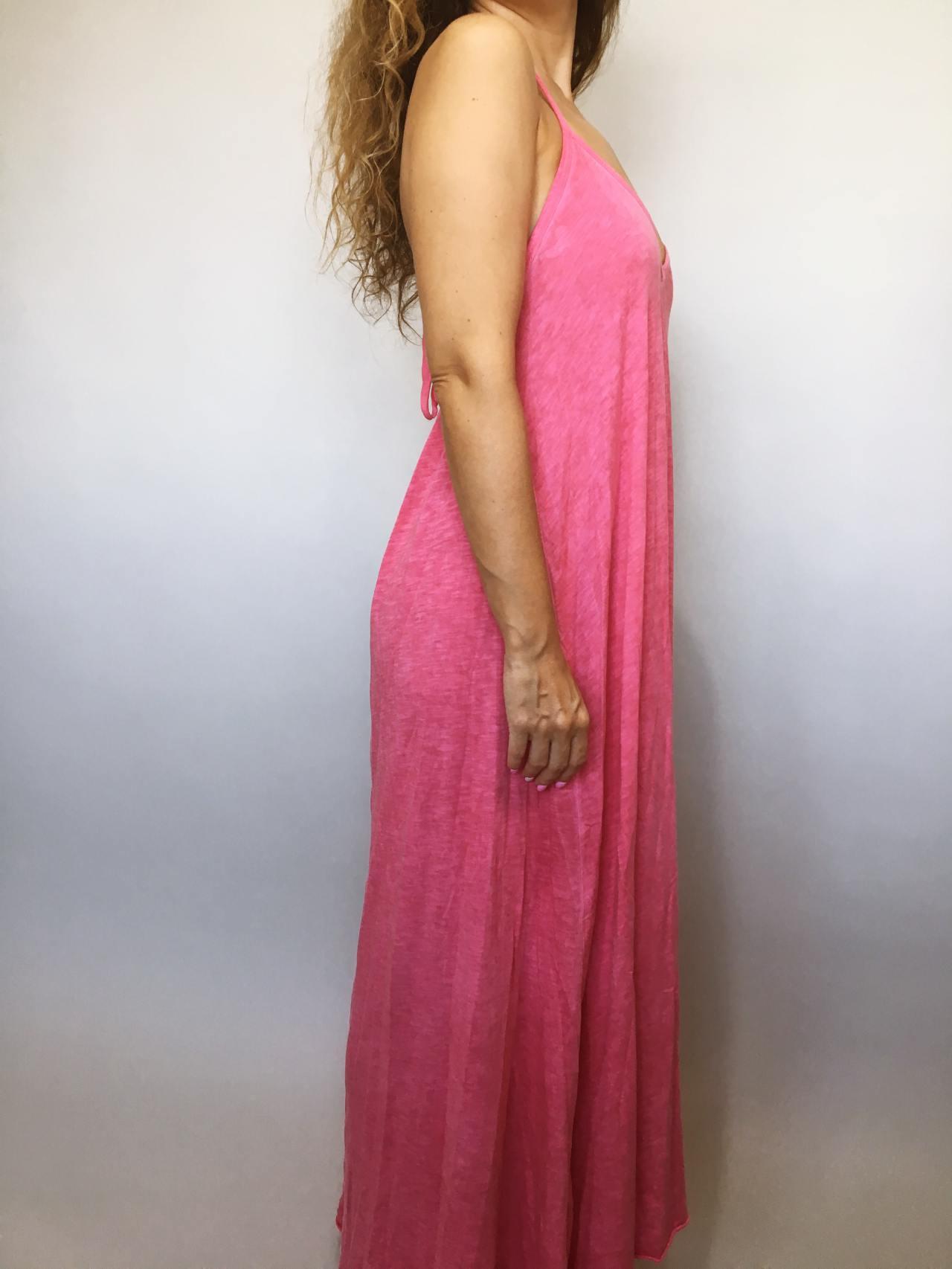 Šaty Sandy růžové 03
