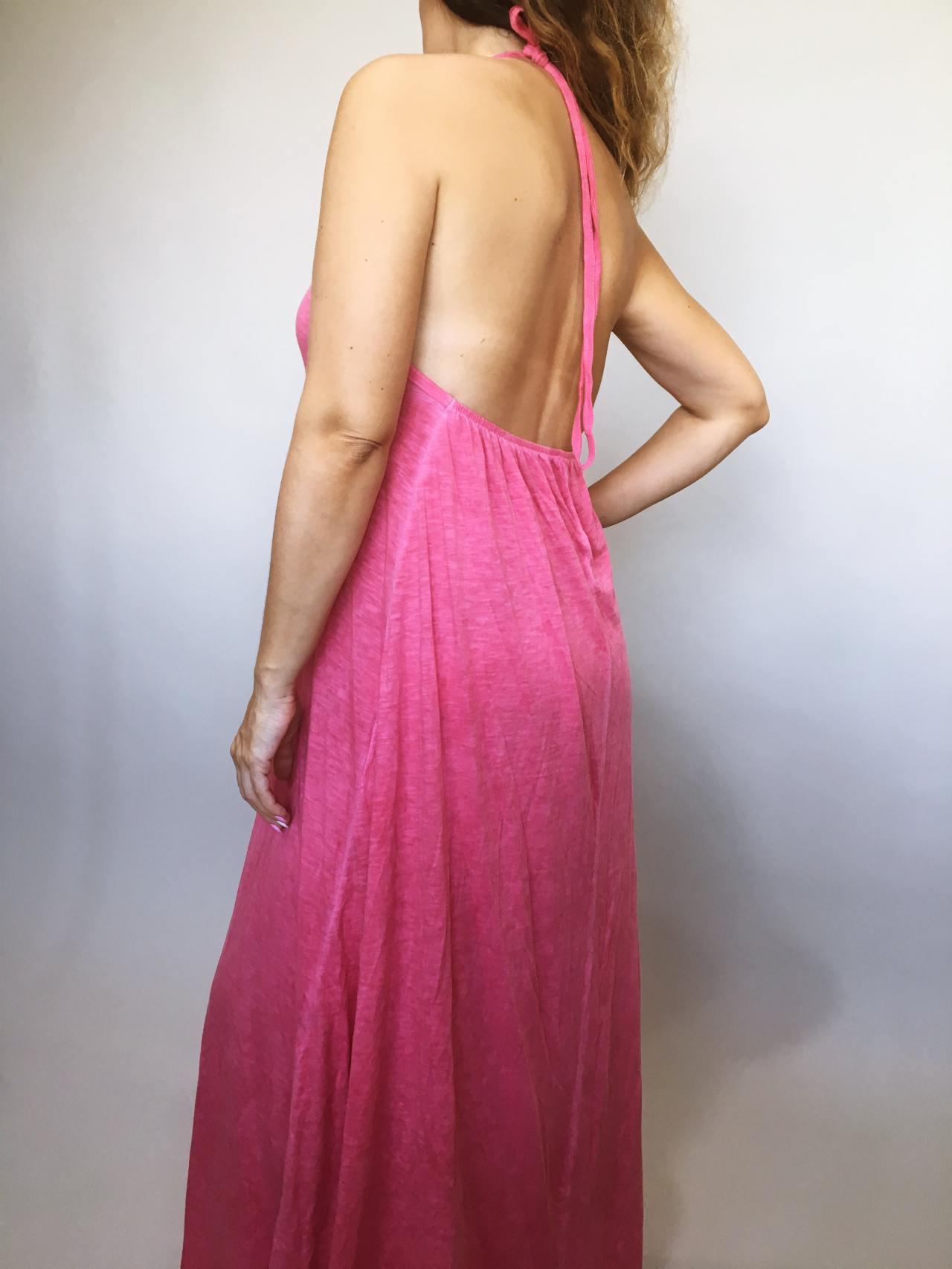 Šaty Sandy růžové 05