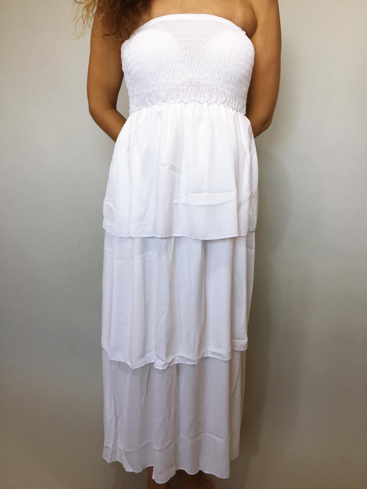 Šaty Summer Day bílé 02