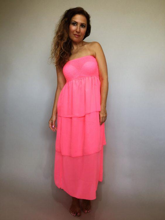 Šaty Summer Day růžové 01