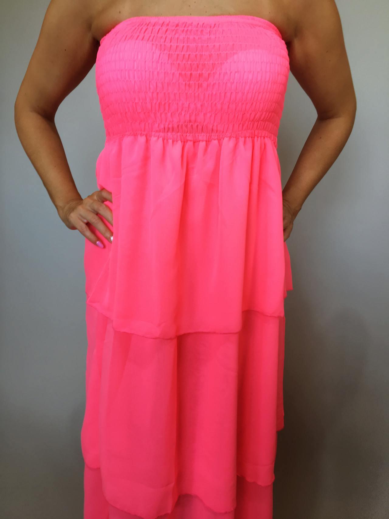 Šaty Summer Day růžové 02