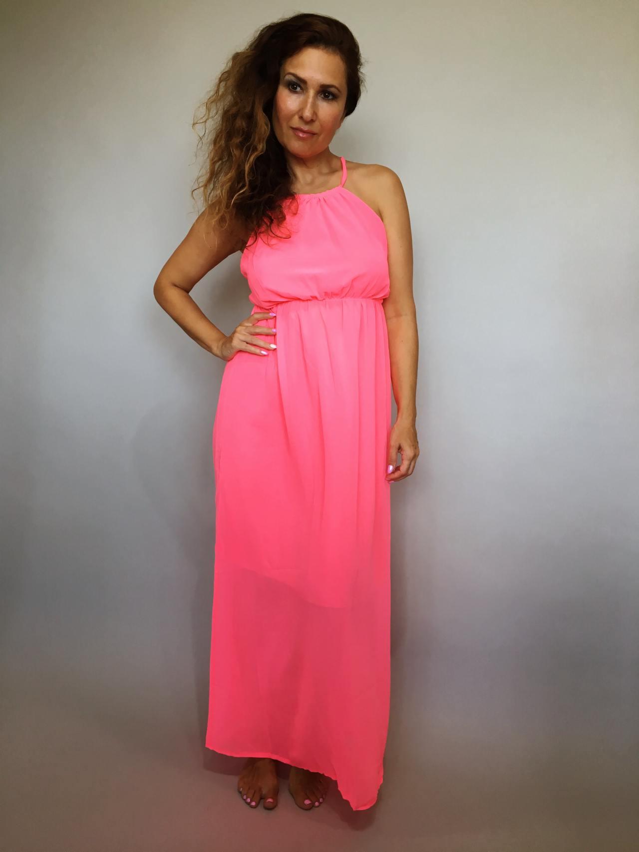 Šaty Sunny Day růžové 01