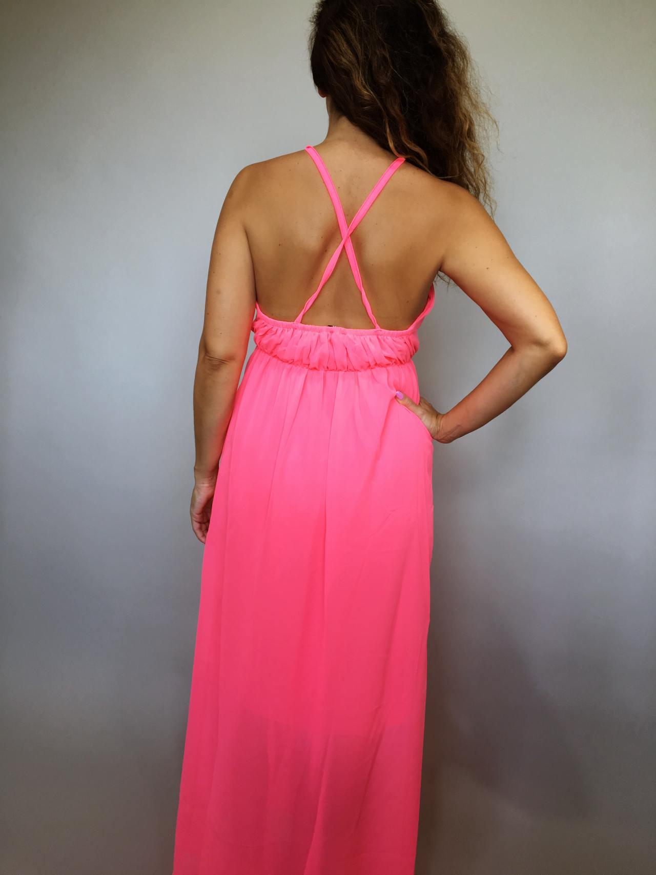Šaty Sunny Day růžové 04