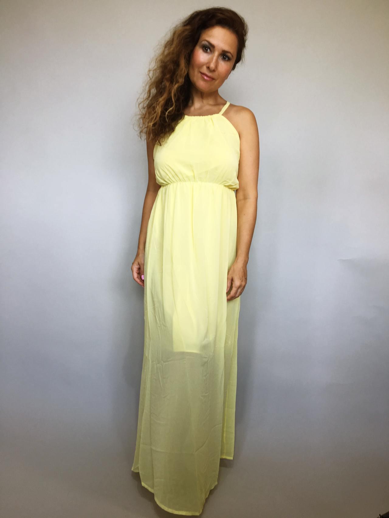 Šaty Sunny Day žluté 01