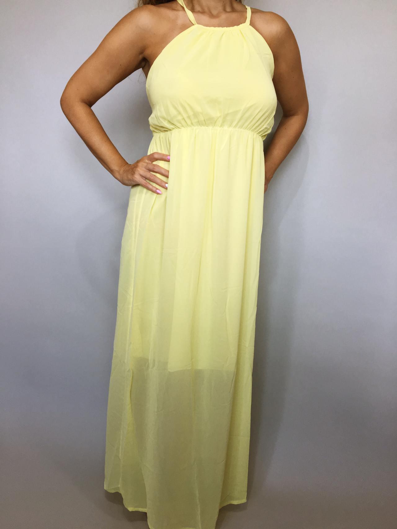 Šaty Sunny Day žluté 02
