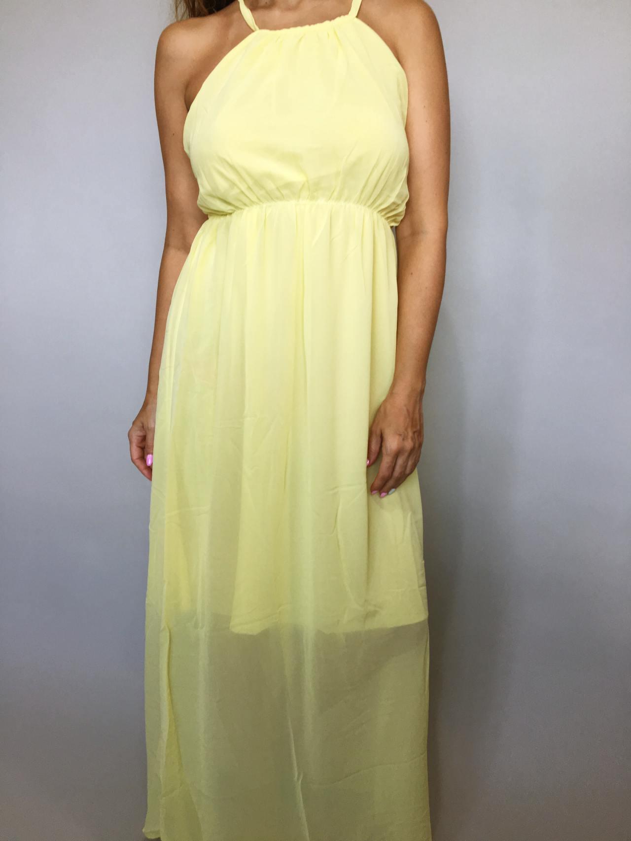 Šaty Sunny Day žluté 03