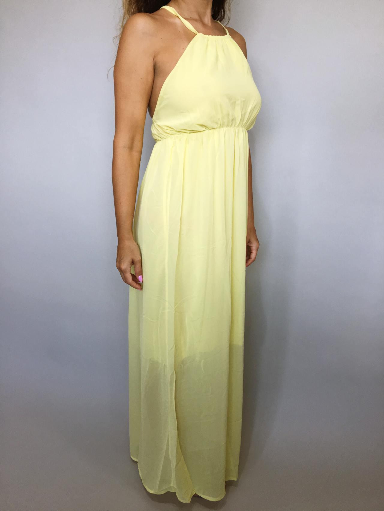 Šaty Sunny Day žluté 04