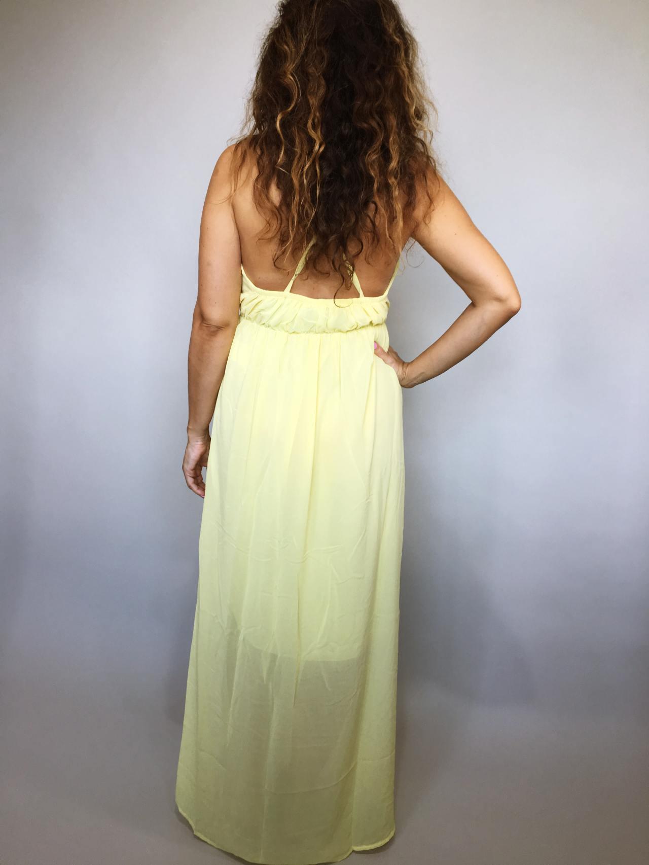 Šaty Sunny Day žluté 05