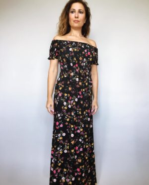 Šaty Tillie černé 01