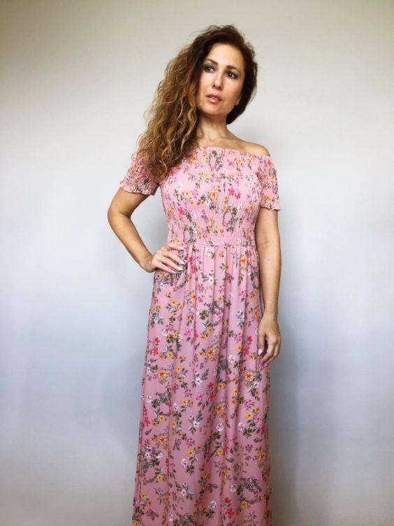 Šaty Tillie růžové 01