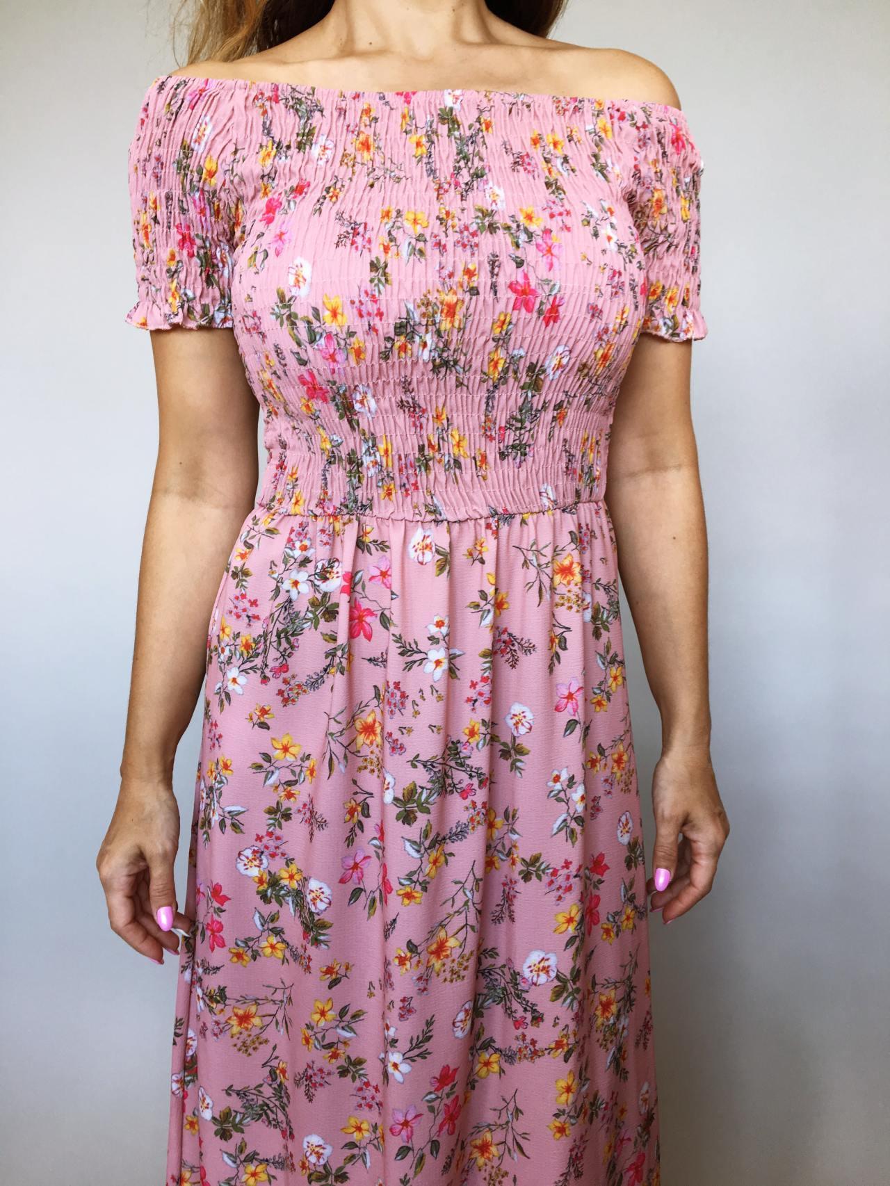 Šaty Tillie růžové 02