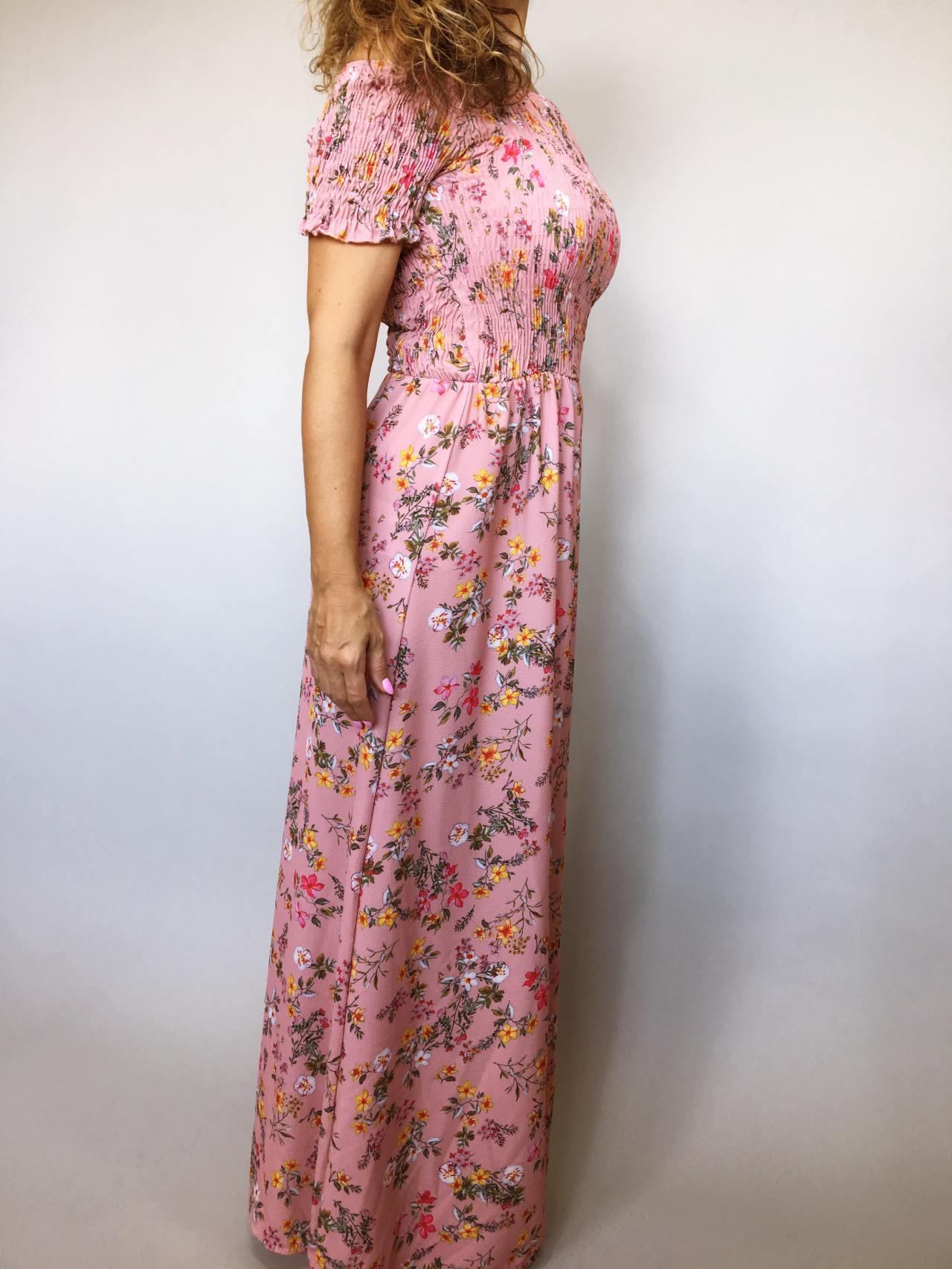 Šaty Tillie růžové 03