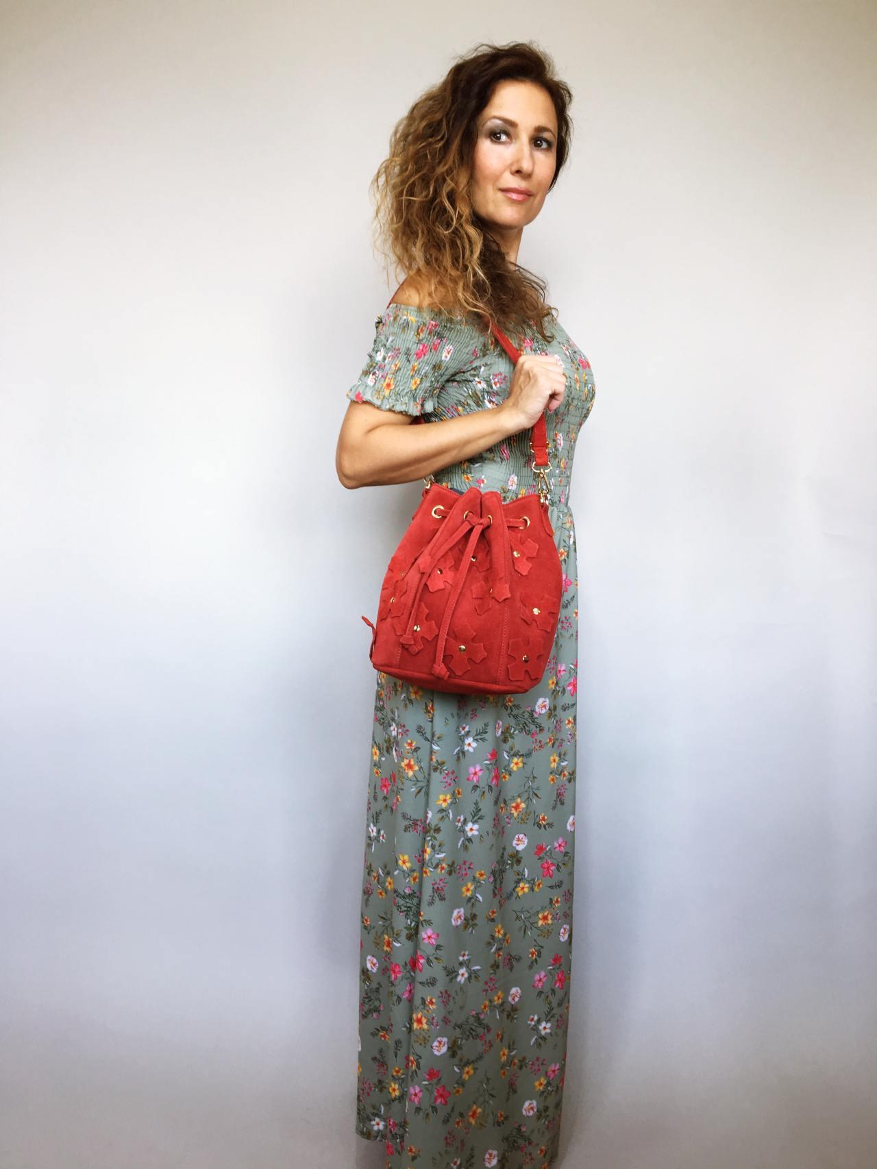 Šaty Tillie zelené 01