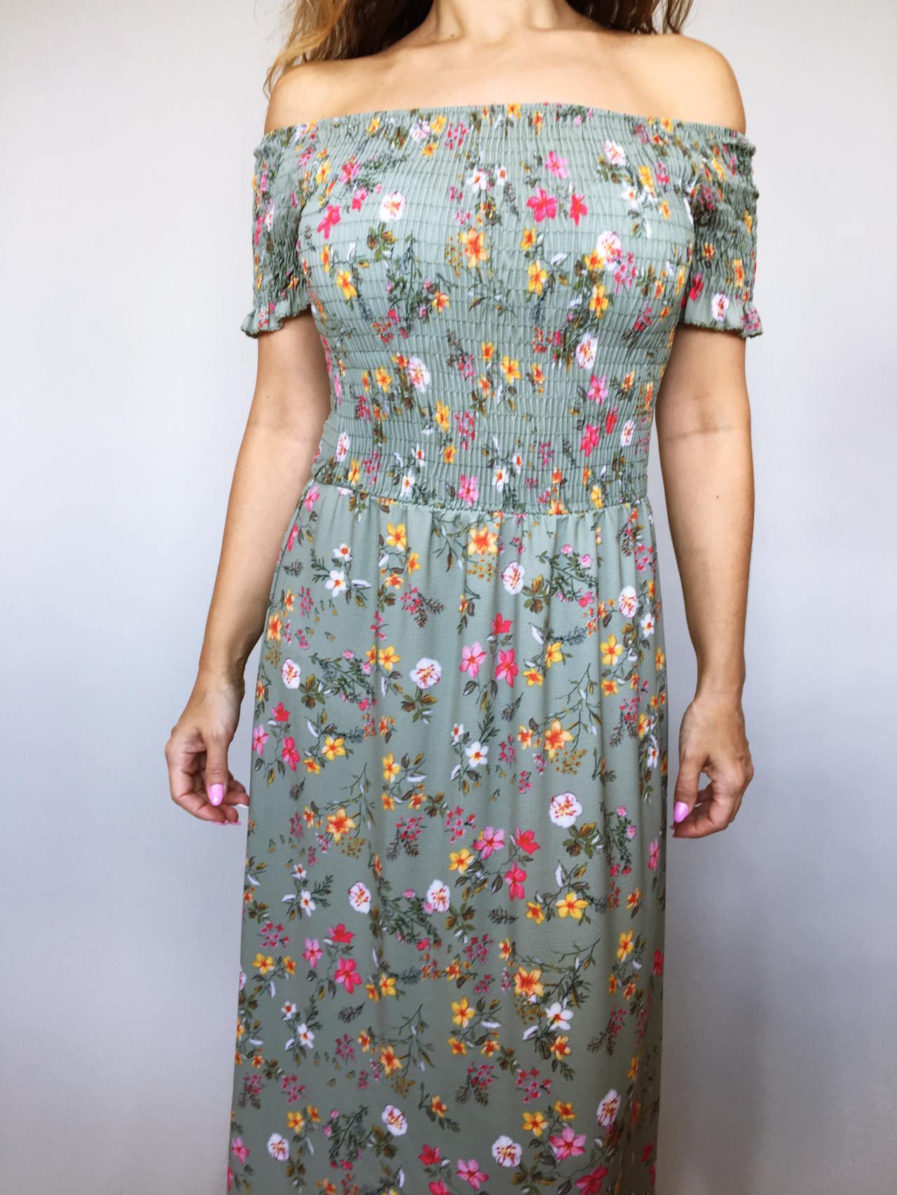 Šaty Tillie zelené 03