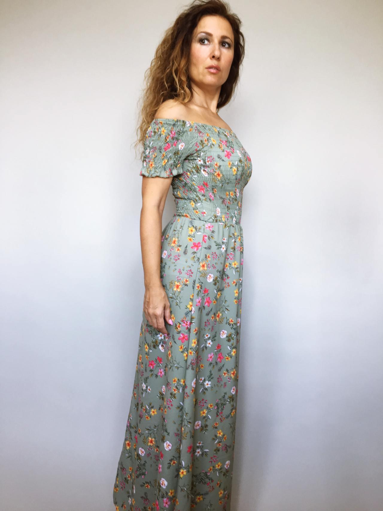 Šaty Tillie zelené 04