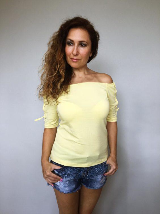 Triko Babe žluté 01