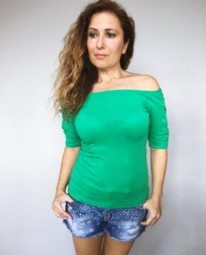 Triko Babe zelené 01